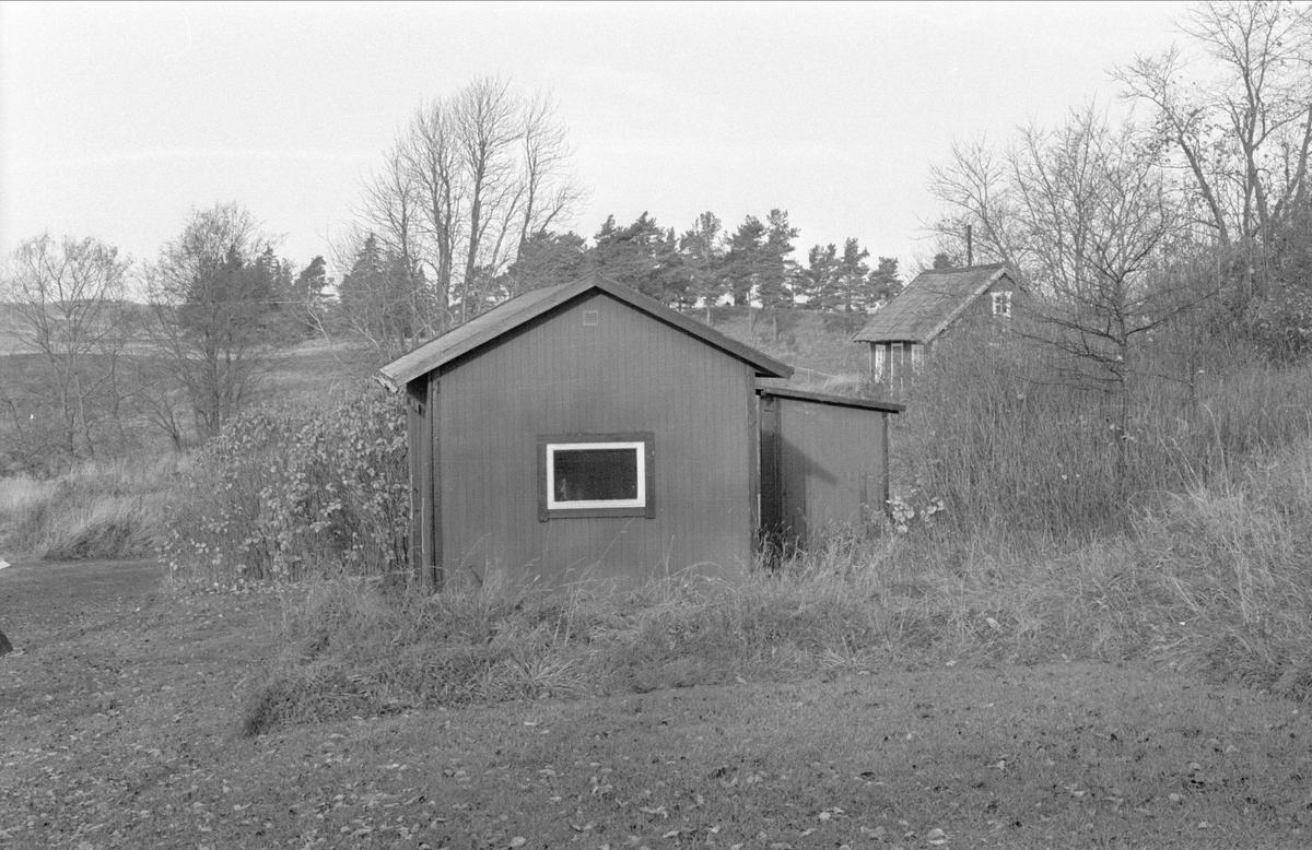 Förråd och brygghus, Fullerö 17:13, Vallsgärde, Gamla Uppsala 1978