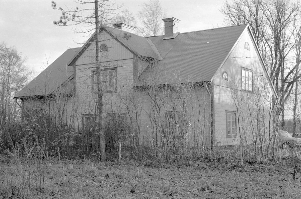 Mangårdsbyggnad, Hånsta 3:4 med flera, Hånsta, Lena socken, Uppland 1978