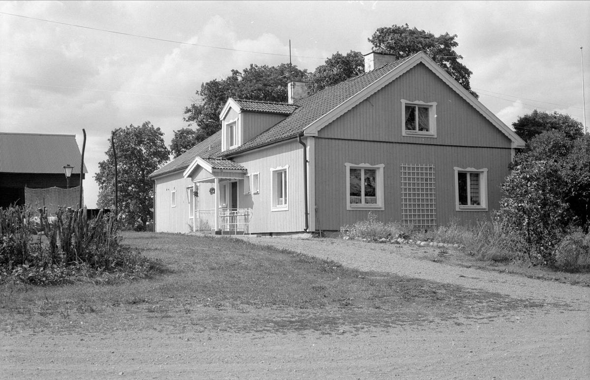 Bostadshus, Lillinge 3:1, Lillinge, Funbo socken, Uppland 1982