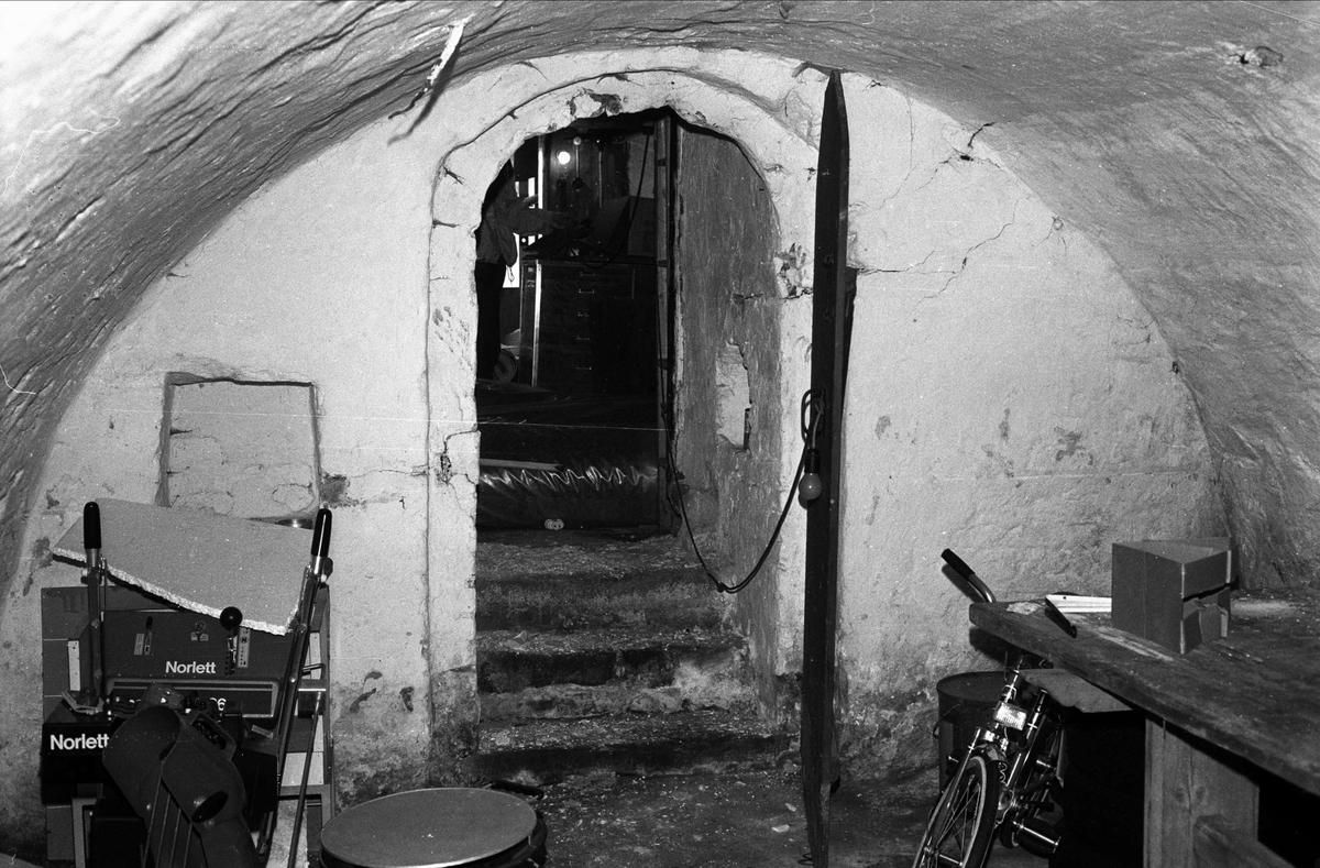 Bostads- och affärshus, kvarteret Duvan, Öregrund 1982