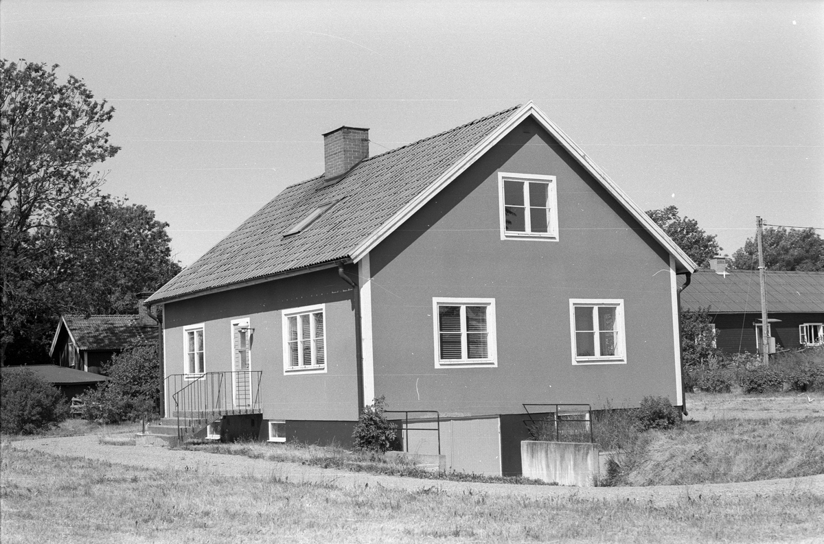 Bostadshus, Österby 9:6, Österby, Läby socken, Uppland 1975