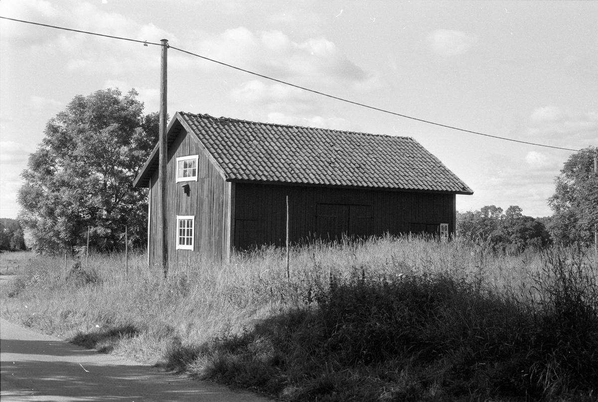 Magasin, Norrgården, Gränsta, Knutby socken, Uppland 1987