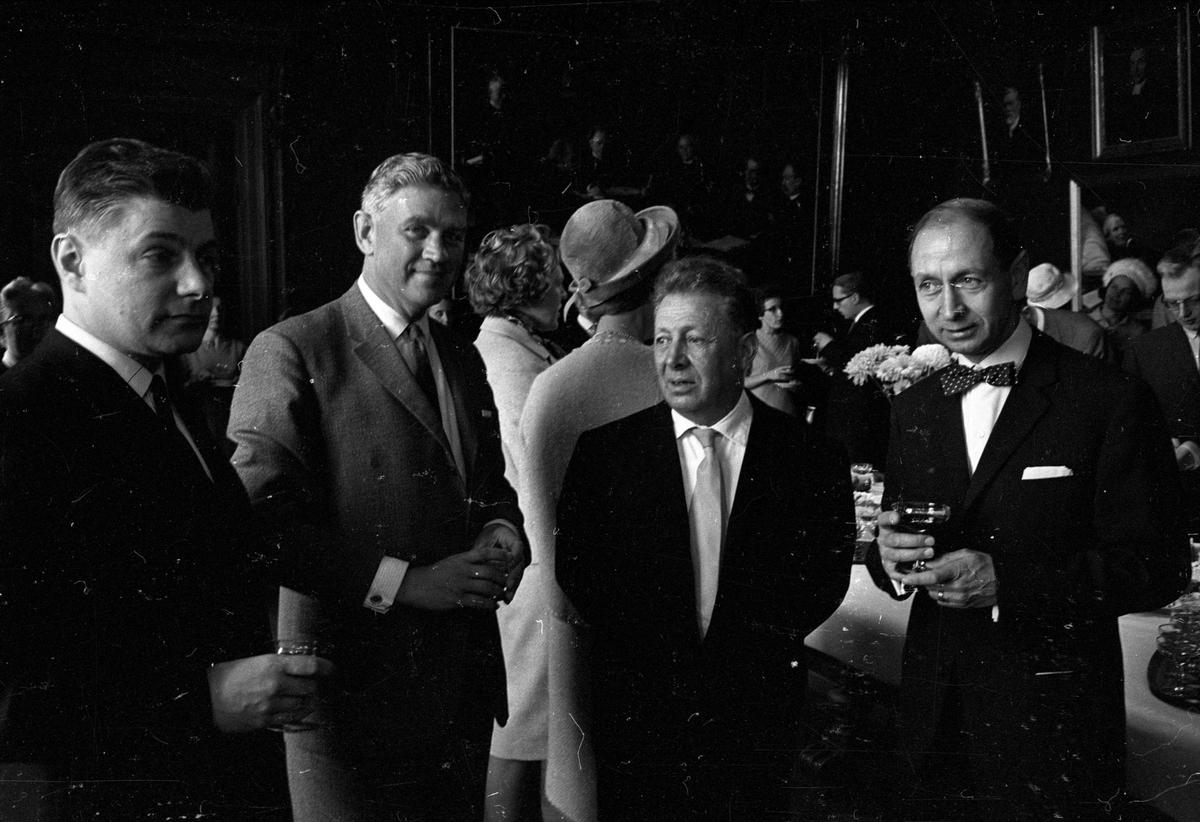 Professor Walter Heitler, Olaus Petrigäst vid Uppsala universitet, Uppsala 1964