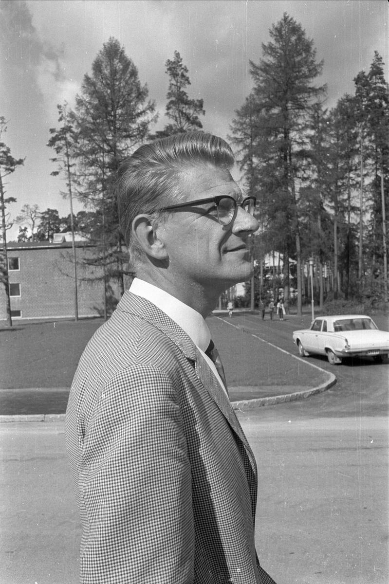 Överläkare Nils Brage Nordlander, Ulleråkers sjukhus, Uppsala 1967