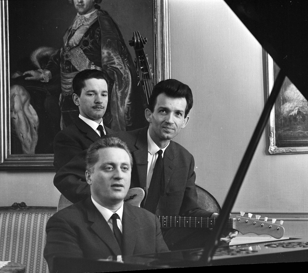 Kapellmästare Gacks Trio, Uppsala januari 1964