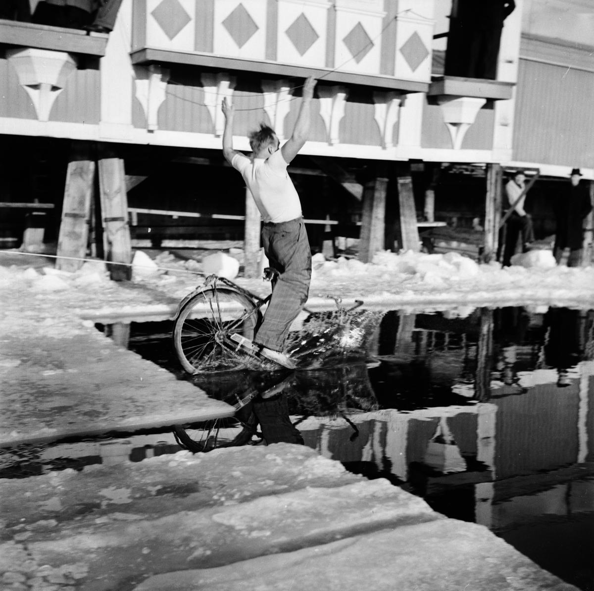 Vinterbadare - Fyrisbadet, Uppsala 1948