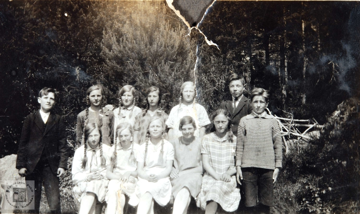 Konfirmanter i Konsmo 1929.