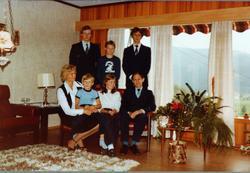 Bilde av familien Ågedal, Konsmo