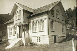 Nyhusa på Voddan, Ytre Øydna i Grindheim.