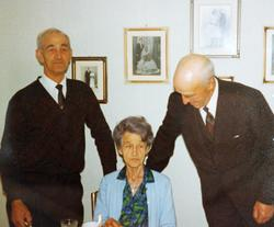 Tre søsken Hårtveit, Audnedal.