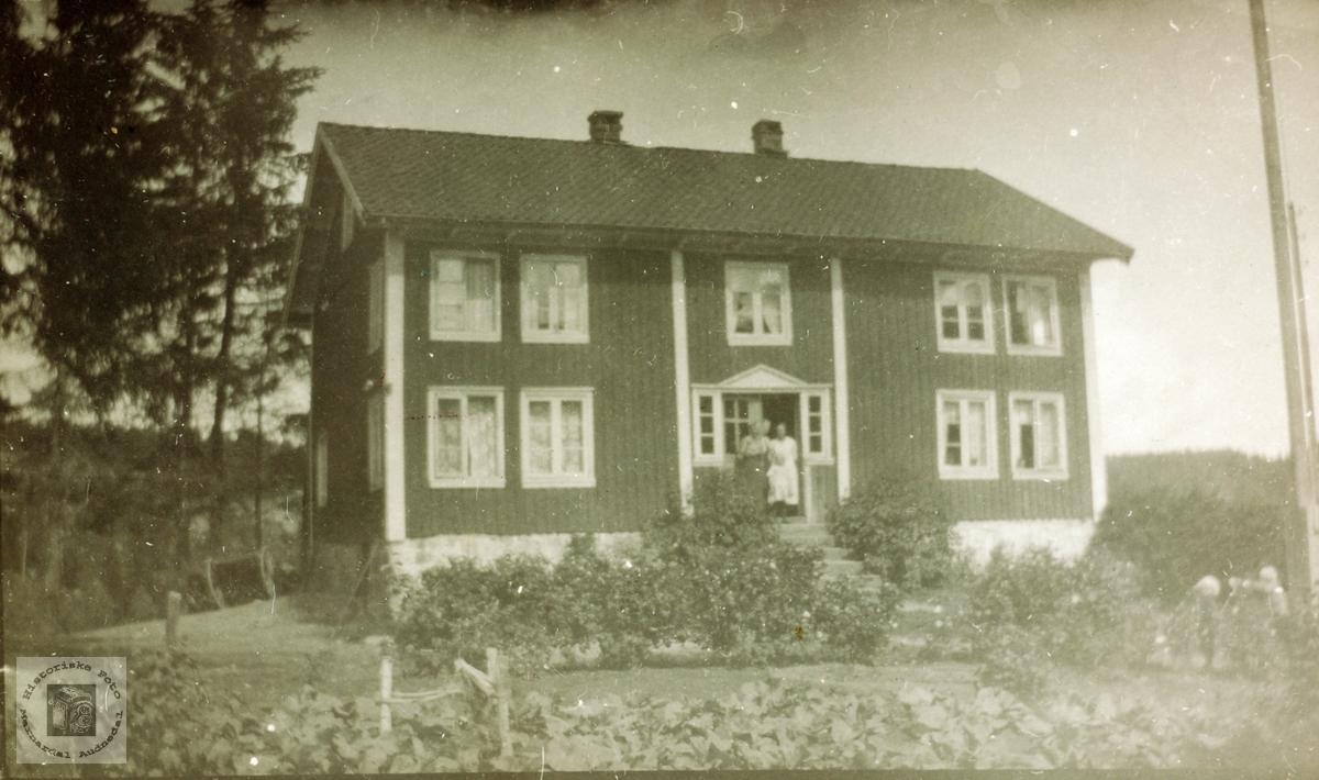 Gardshusa Der heime på Seland, Grindheim Audnedal.
