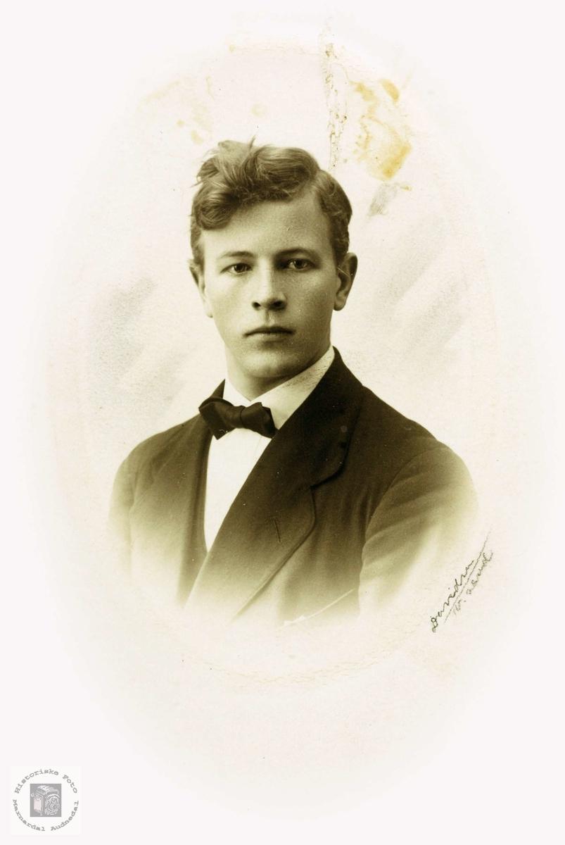 Portrett av Knut Flåt. Grindheim.