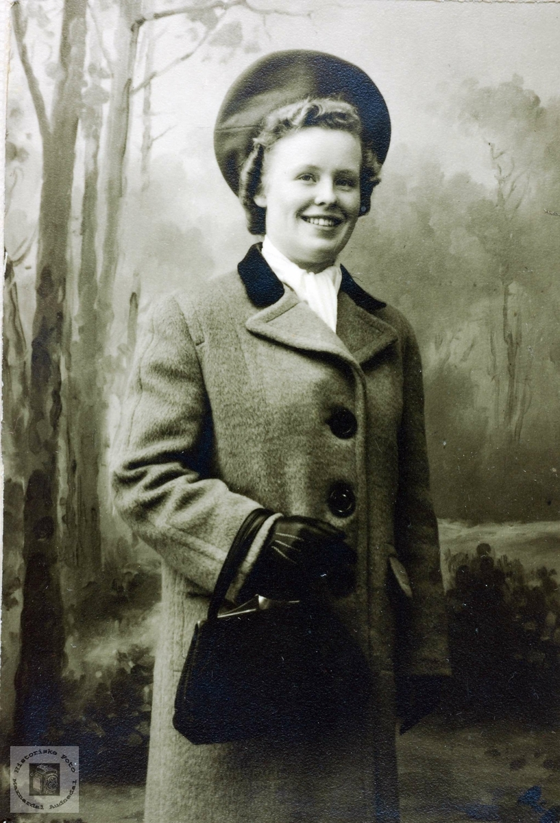 Portrett av Torine Imeland. Øyslebø