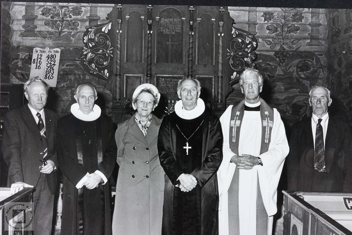 Bispevisitas i Grindheim kirke.