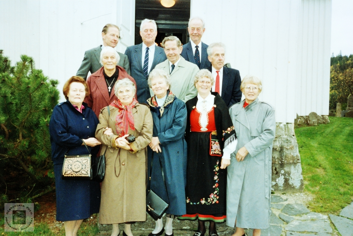 50- års konfirmanter Grindheim Bjelland.