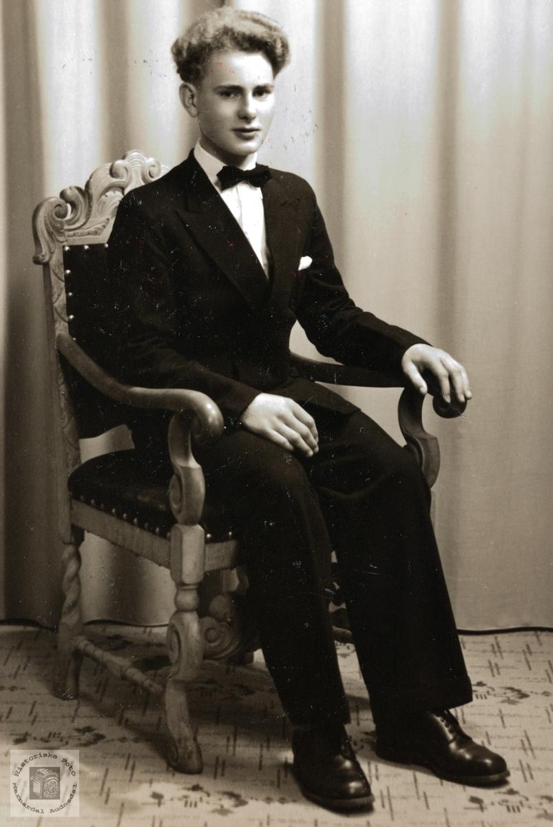 Konfirmant Kjell G. Byremo. Grindheim.