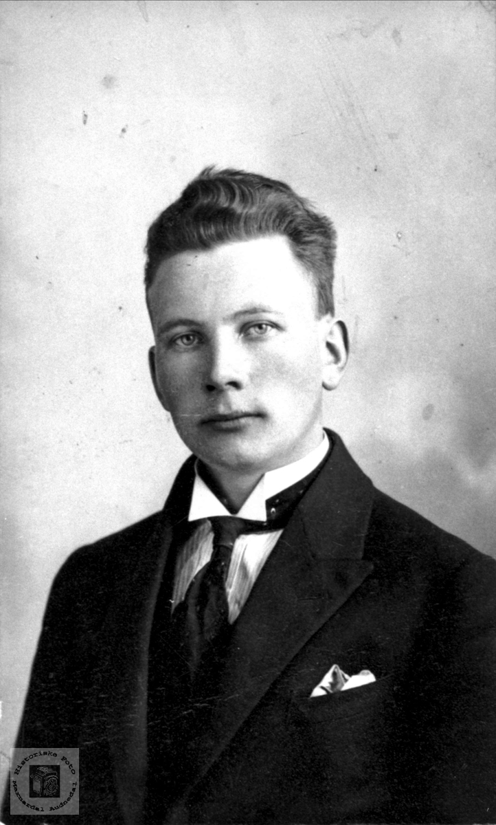 Portrett av Torkel Abelseth, Bjelland.