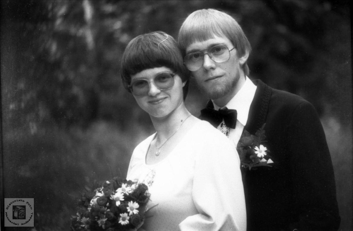 Portrett av ekteparet Eli Olsen og Njål Øvrebø.