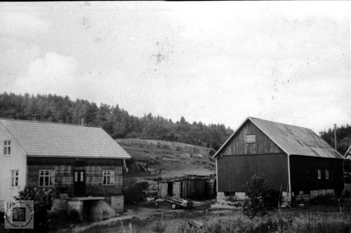 Gardstun. Skaret, Tisland i Laudal.