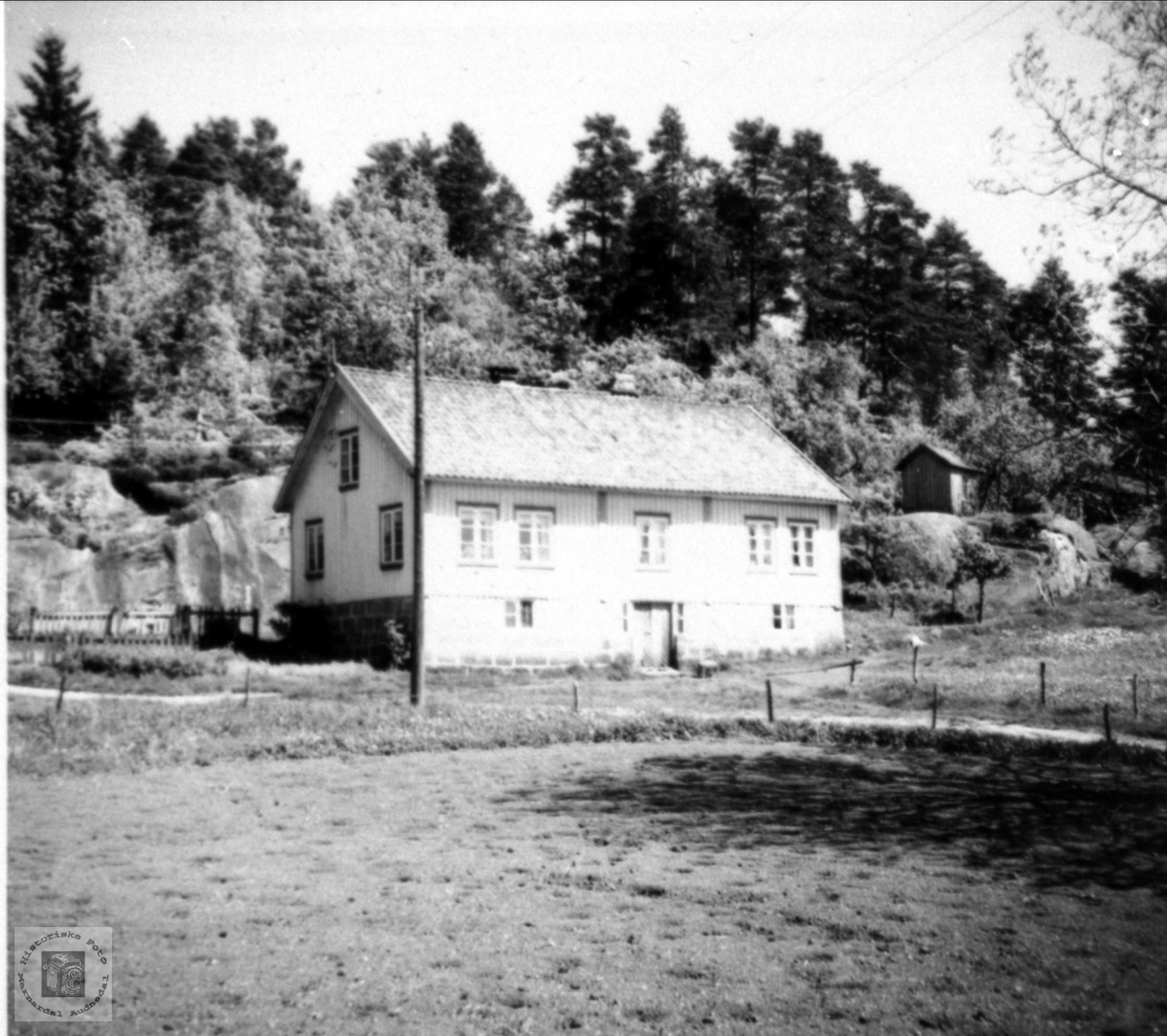 Gardsbruk Glomså i Laudal.