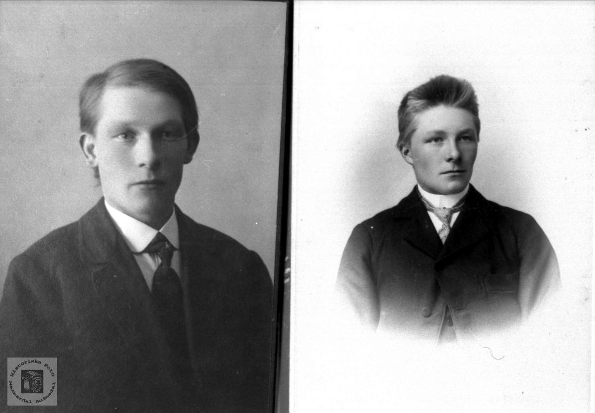 Brødrene Erik og Bent Skogen, Øyslebø.