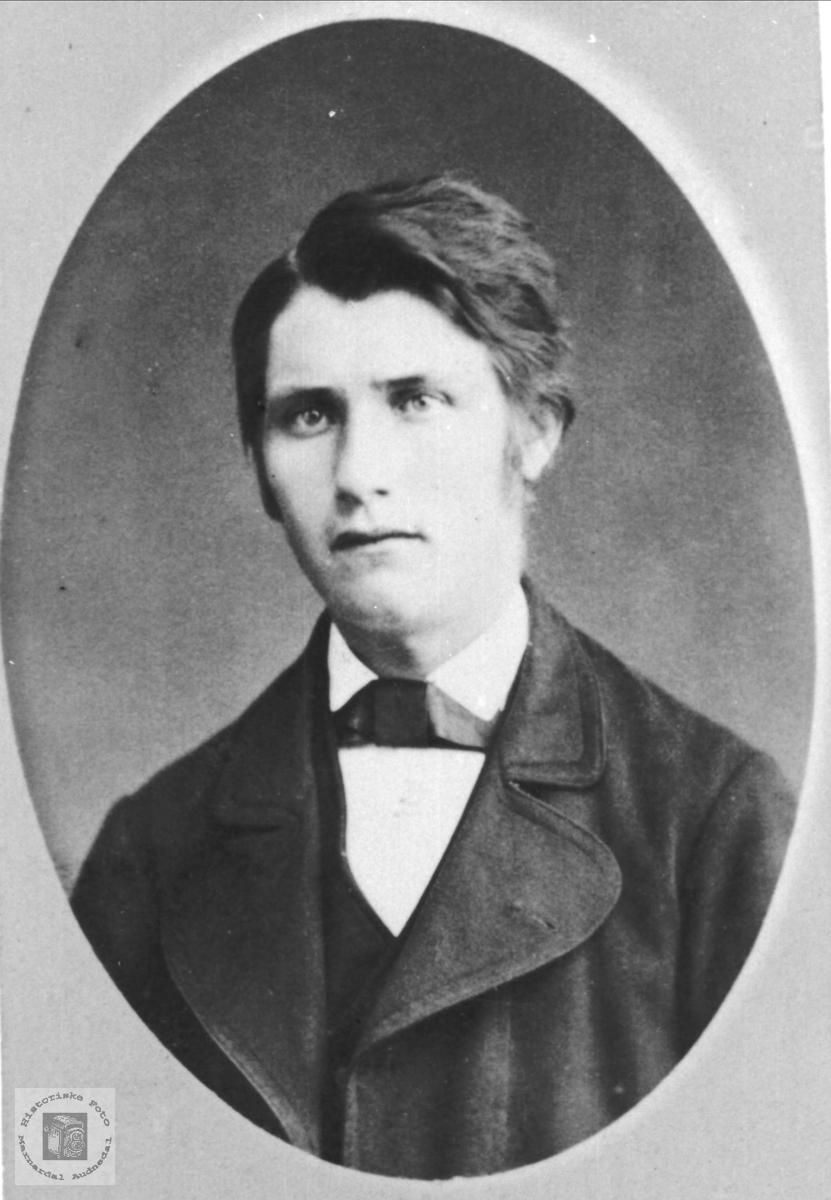 Portrett Nils Kristenson Bue, Øyslebø.