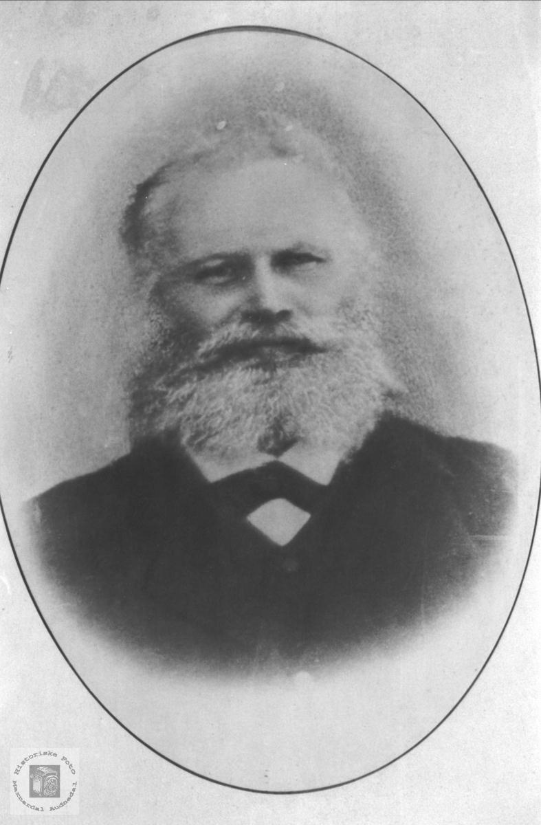 Portrett av Knut Heddeland, Øyslebø.