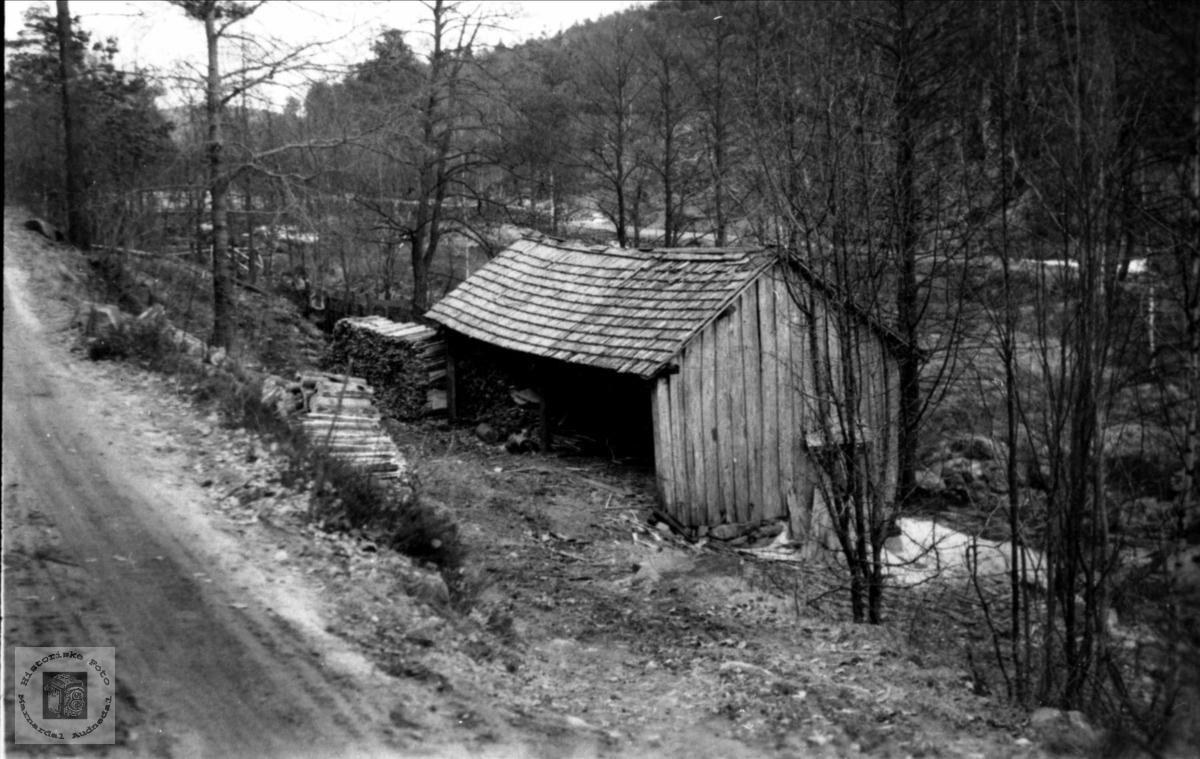 Gammelsaga på Røkking, Øyslebø.