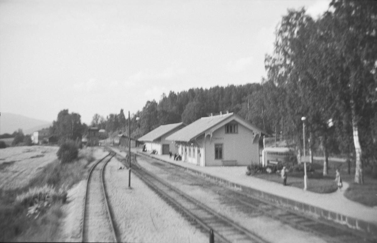 Krøderen stasjon og godshus
