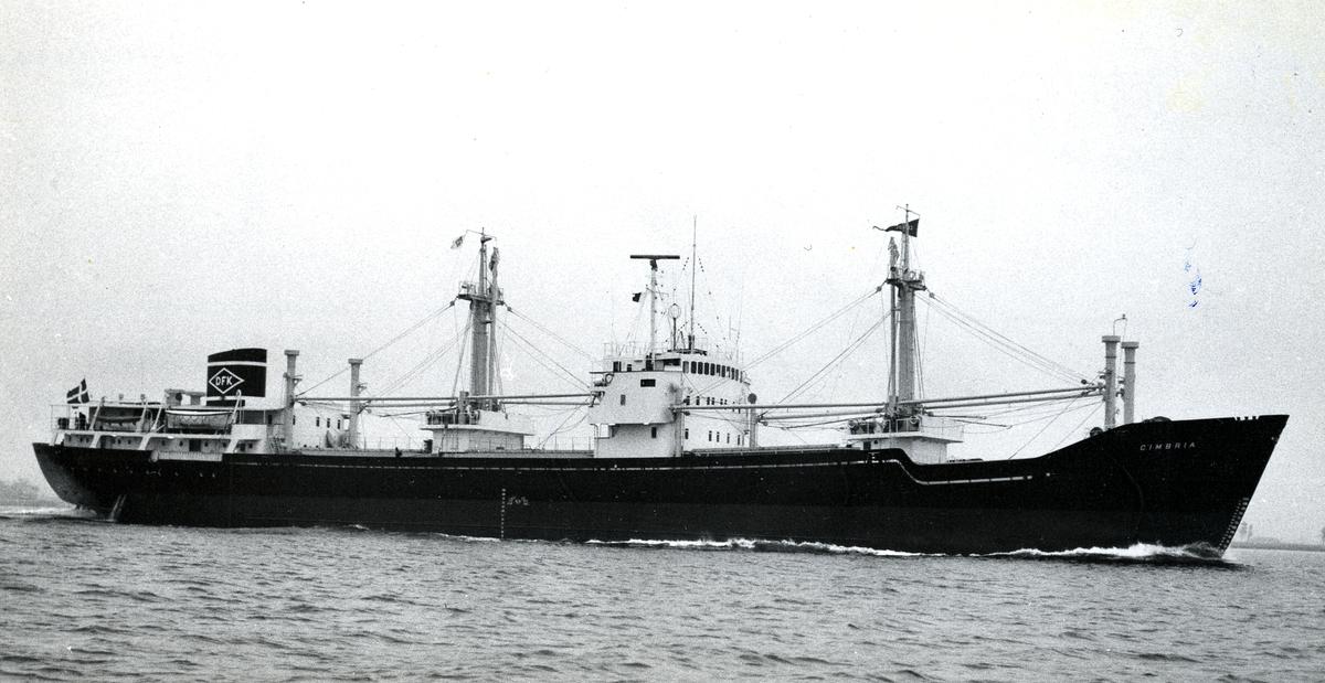 M/S Cimbria (b.1963, Aalborg Værft A/S, Ålborg)