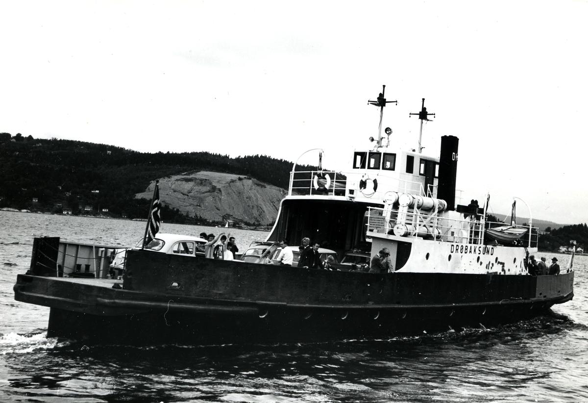 M/F Drøbaksund (Ex. D/S Louise 2, Louise)(b.1899, A/S Akers mek. Verksted, Kristiania)