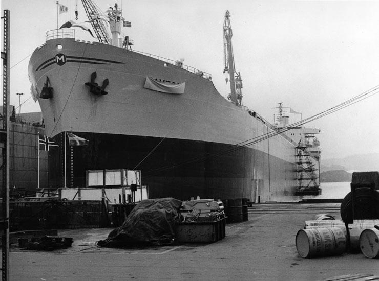 Dop av fartyg 210 OBO Havtor.