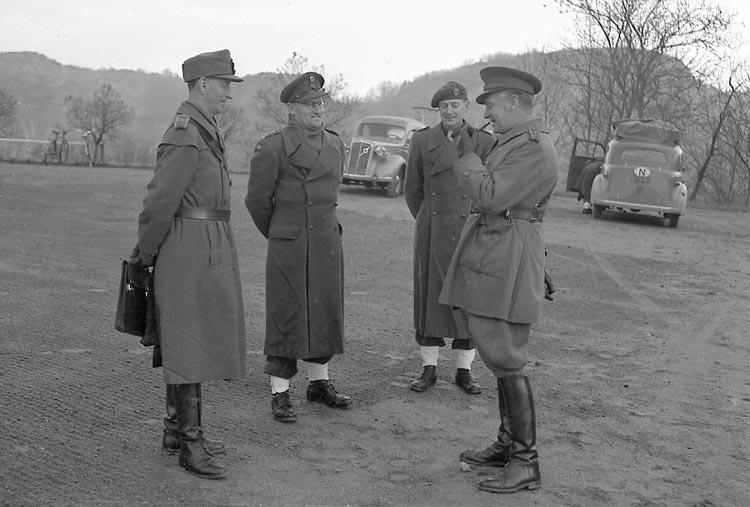 """Enligt notering: """"Norska krigsskolan 2/12 1948""""."""