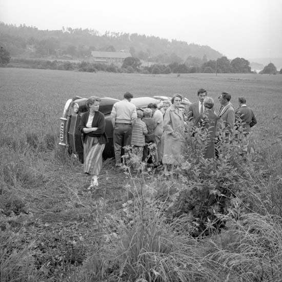 Bilolycka 1958.