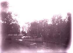 Vänerskutan MAGNUS på Göta Kanal 1910