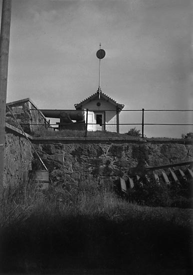 """""""Troja"""", Oscar II:s tennispaviljong på Carlstens fästning"""