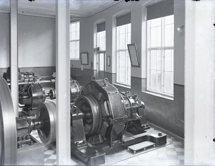 """""""Från Kraftstationen i Munkedals fabrik omkring 1915?."""""""