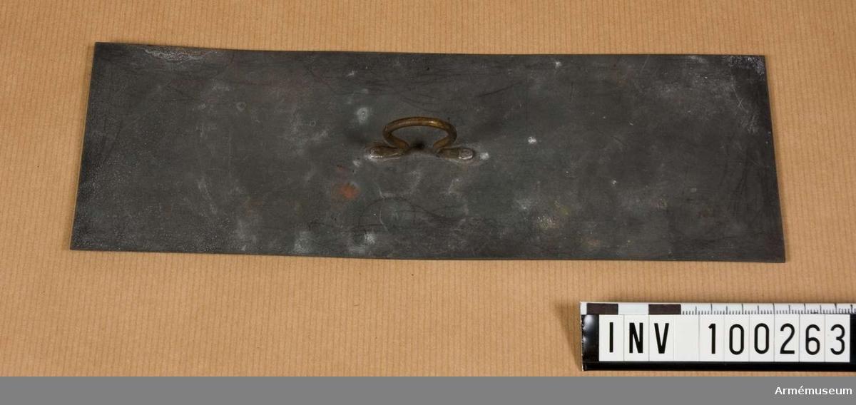 Materialmall till kardus m/1905
