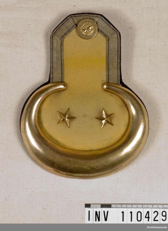 Epålett m/1845