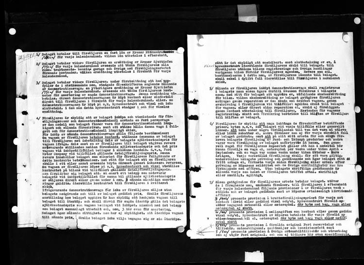 """Uppgift enligt fotografen: """"Uddevalla. Kontrakt. Dir. Lange 1943."""""""
