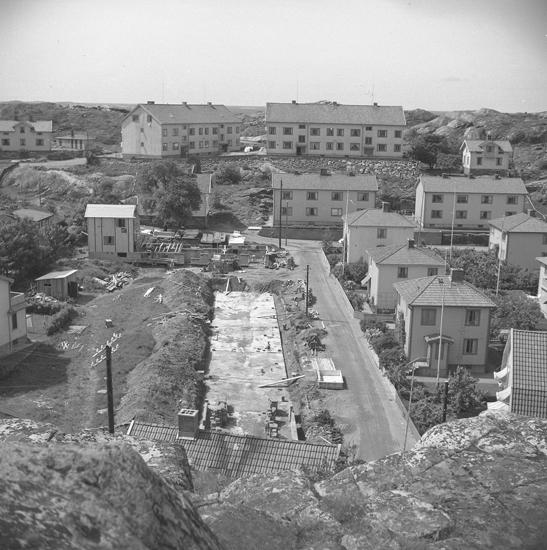 """Text till bilden: """"Hagagatan, Kyrkevik. 1954""""           i"""