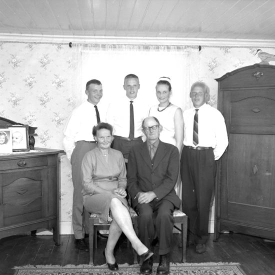 """Text till bilden: """"John Hansson, Träleberg. 1963.07.22"""""""