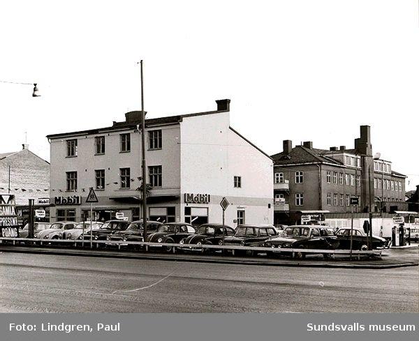 Rådhusgatan 39. Här låg tidigare Ivar Petterssons motorverkstad.