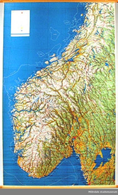 Skolkarta märkt nr 39.Södra norden.