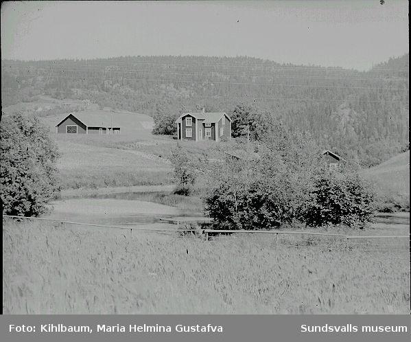 Ester Näslunds barndomshem i Öppom, Ljustorp, sommartid.