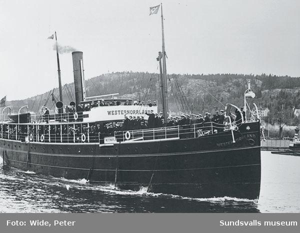 Passagerarfartyget Westernorrland.