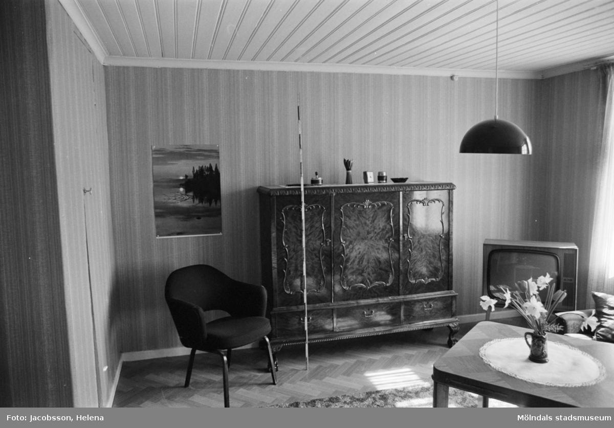 Roten L 13 i Mölndals Kvarnby. Lägenhetsinteriör från rotebostad.