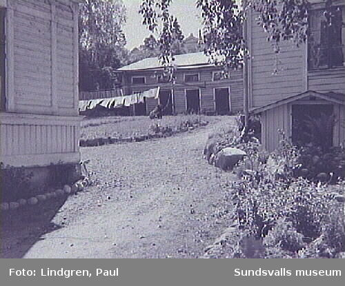 Södermalmsgatan 43. En typisk gårdsinteriör på Södermalm.
