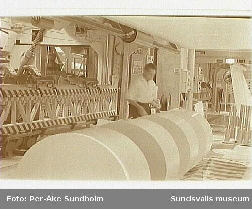 Dokumentation av LWC-linjen, PM 1, Ortvikens pappersbruk, inom ramen för SAMDOK:s Trä- och papperspool.