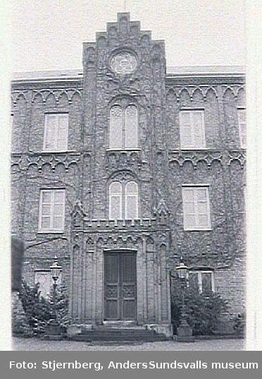 Arkitekt, C-G Brunius.